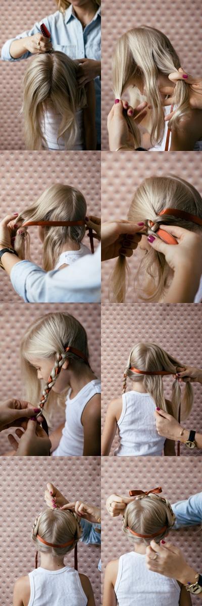 Peinados para las niñas!!y para las mamis ;-)