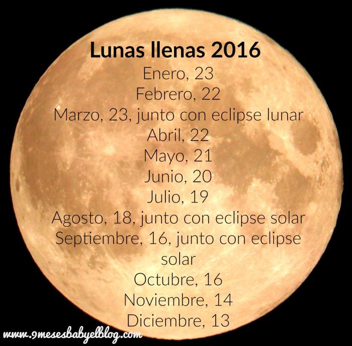 lunas llenas 2016